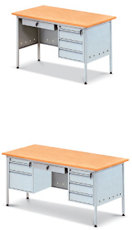 Standard desks smpc dexon a malaysian steel office - Metal office furniture manufacturers ...